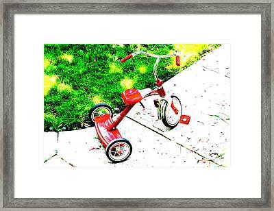 Kids Framed Print by Jay Nodianos