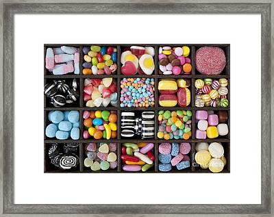 Kids Sweets Framed Print