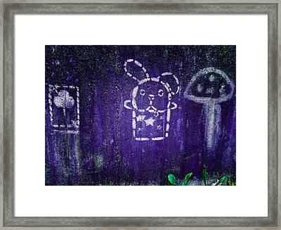 Kids' Wall 2 Framed Print