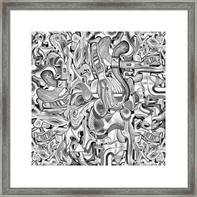 Kieko Alteration #2 Framed Print by George Curington