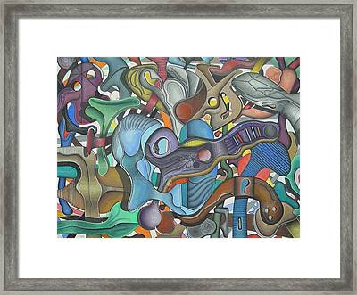Kieko Alteration #3 Framed Print