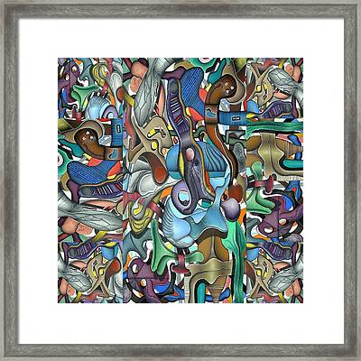 Kieko Alteration Framed Print by George Curington