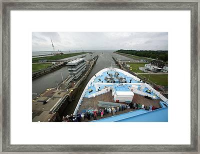 Kiel Canal Framed Print