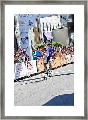 Kiel Reijnen Wins Framed Print by Lisa Phillips