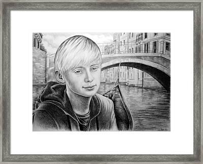Kieran Framed Print by Andrew Read