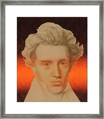 Kierkegaard Framed Print
