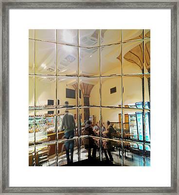Kiev Train Station Art Deco Framed Print by Rick Todaro