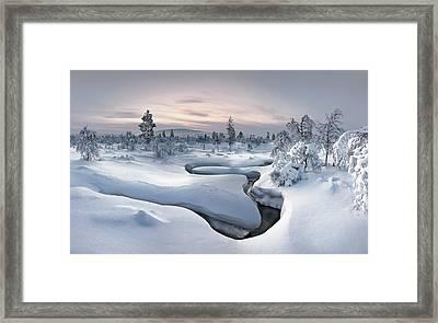 Kiilopa?a? - Lapland Framed Print