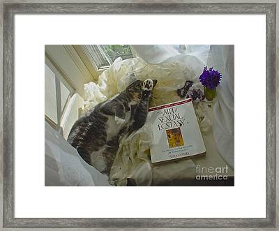 Framed Print featuring the photograph Kiki Kinky by Delona Seserman