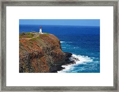 Kilauae Lighthouse 2013 Framed Print