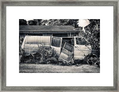 Kilauea Junker Framed Print by Robert  FERD Frank