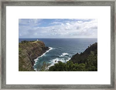 Kilauea Lighthouse - Kauai Hawaii Framed Print by Brian Harig