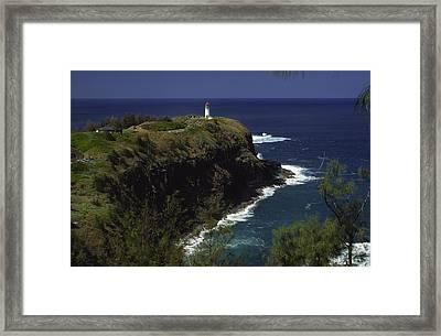 Kilauea Lighthouse Framed Print