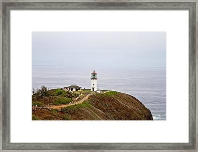 Kilauea Lighthouse Framed Print by Scott Pellegrin