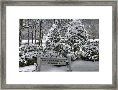 Kilburnie Inn At Craig Farm Framed Print