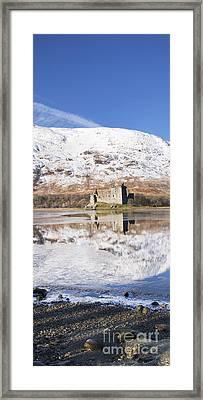 Kilchurn Castle Loch Awe Scotland Framed Print by Tim Gainey