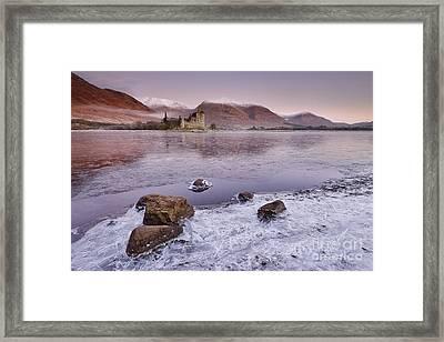 Kilchurn Castle Framed Print by Rod McLean