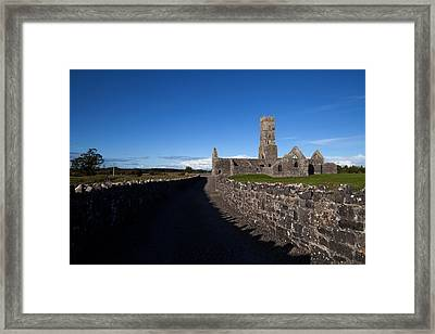 Kilconnell Friary Founded In 1353 Framed Print by Panoramic Images