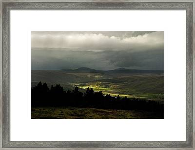 Framed Print featuring the photograph Kildonan Strath Northern Highlands Of Scotland by Sally Ross