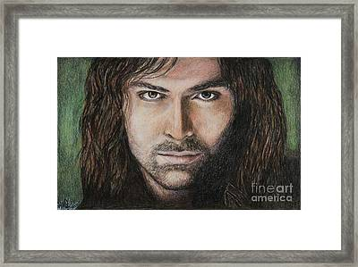Kili The Dwarf Framed Print
