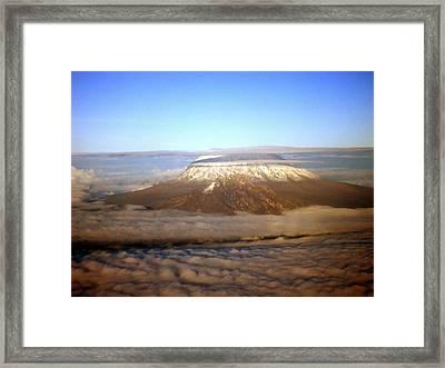 Kilimanjaro Framed Print by Tuntufye Abel