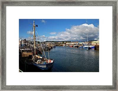 Kilkeel On The County Down Coast Framed Print