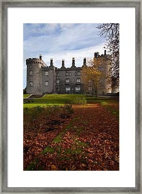 Kilkenny Castle - Rebuilt In The 19th Framed Print by Panoramic Images