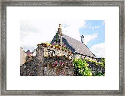 Framed Print featuring the photograph Kilkenny House by Mary Carol Story