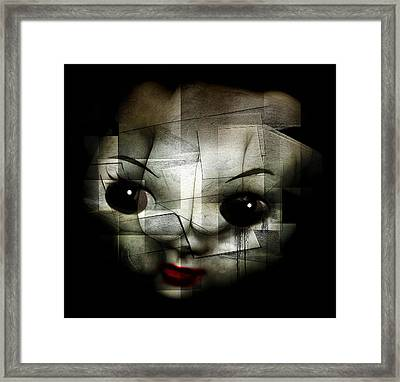 Kill The Clown Framed Print by Johan Lilja