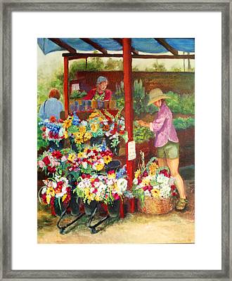 Killarney Farms Booth Framed Print