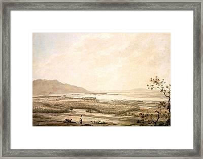 Killarney From The Hills Above Muckross Framed Print