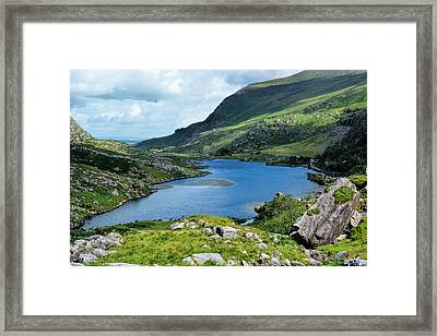 Killarney's Lakes So Blue Framed Print by Maggie Magee Molino
