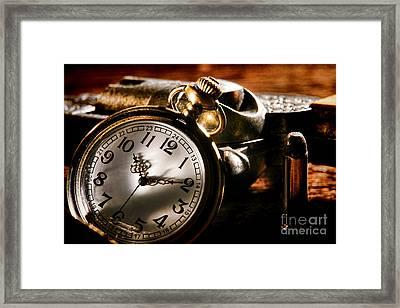 Killer Time  Framed Print