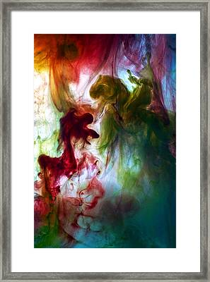 Killing The Dragon Framed Print by Petros Yiannakas