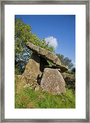Kilmogue Megalithic Tomb, Harristown Framed Print by Panoramic Images