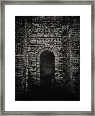 Kiln Framed Print by Odd Jeppesen