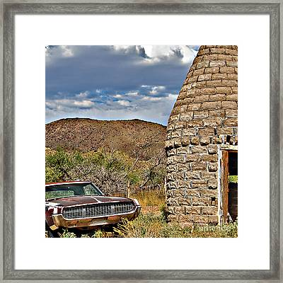Framed Print featuring the photograph Kiln Sale by Lee Craig