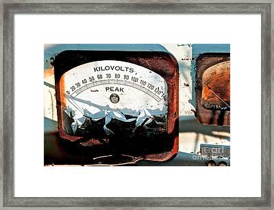 Kilovolt Picking Framed Print