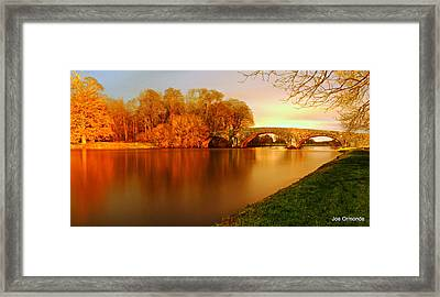 Kilsheelan Bridge Framed Print