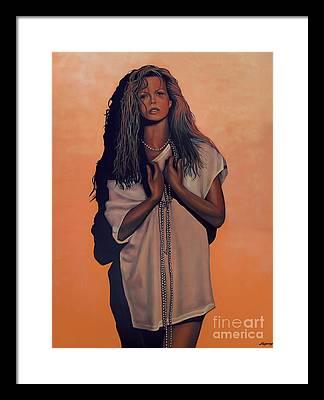 Vicki Framed Prints