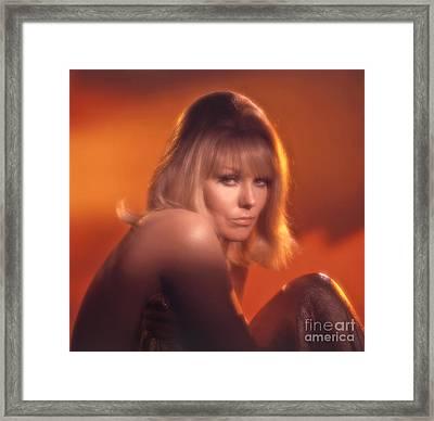 Kim Novak Framed Print by Frank Bez