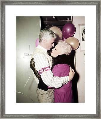 Kim Novak In Jeanne Eagels  Framed Print by Silver Screen