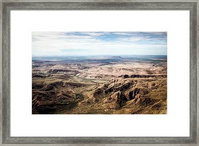 Kimberley Mountains Framed Print