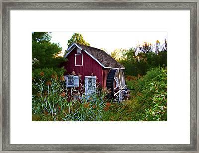 Kimberton Mill Framed Print by Bill Cannon