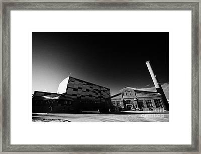 Kimex Shipyard Entrance And Dry Dock Building Kirkenes Finnmark Norway Europe Framed Print