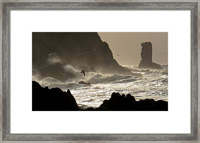 Kinard Power Framed Print