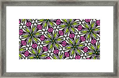 Framed Print featuring the digital art Kind Of Cali-lily by Elizabeth McTaggart