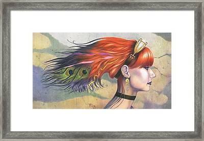 Kinda-maybe-somewhat-semi-sort-of Framed Print by Paul Petro