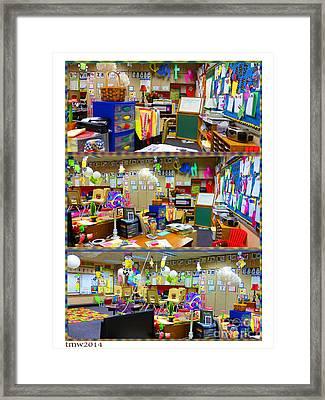 Kindergarten Classroom Framed Print