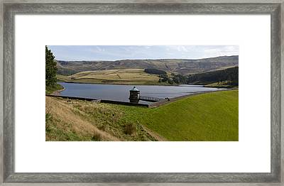 Kinder Reservoir Panorama Framed Print